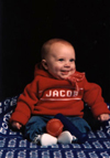 personalized infant sweater